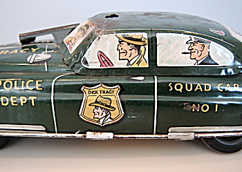 Dick Tracy Marx Police Squad Car No. 1 - Friction. (Image1)