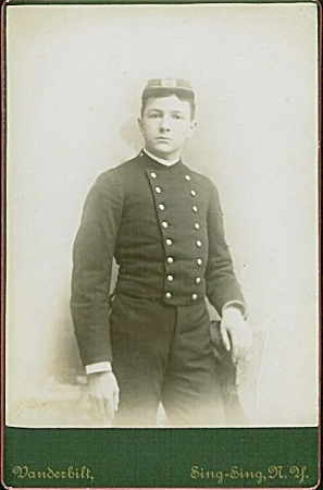 Cabinet Photo - Cadet At Sing Sing, Ny
