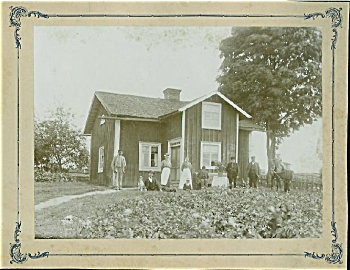 Cabinet Photo - Wonderful Farmhouse Cottage C.1880.