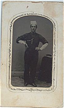 Tintype of a Proud Baker. (Image1)