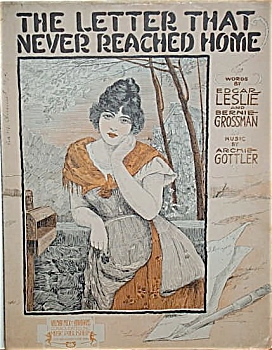 Sheet Music - Letter That Never Reached Home