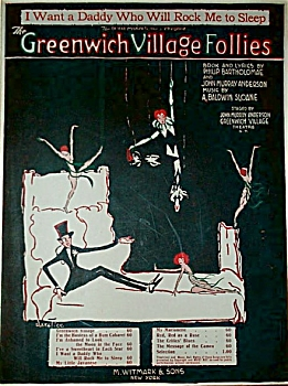 Sheet Music - Greenwich Village Follies 1919