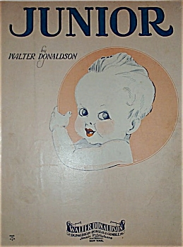 Sheet Music - Junior - C.1929