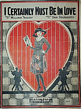 Sheet Music - I Certainly Must Be In Love