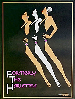 Original 1977 Amsel poster FORMERLY THE HARLETTES (Image1)