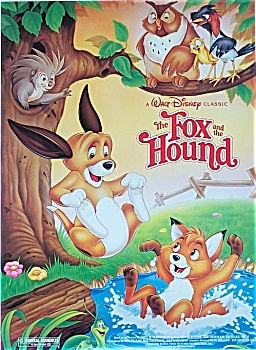 The Fox And The Hound 1981 Disney Poster