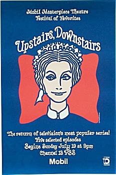 VINTAGE POSTER 1981 UPSTAIRS DOWNSTAIRS Jean Marsh (Image1)