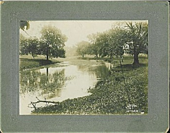 CABINET PHOTO � LOVELY LAZY RIVER by MOMSEN. (Image1)