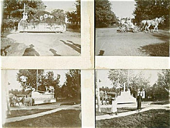 CABINET PHOTO �SET OF 6 AWESOME PARADE C.1898 (Image1)