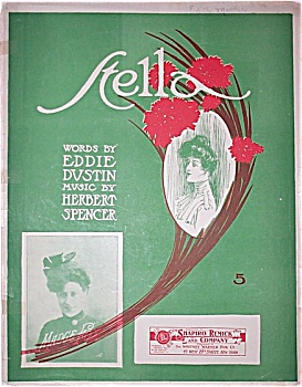 Sheet Music - STELLA – C.1913. (Image1)