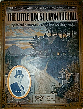 Sheet Music - The Little House Upon The Hill.