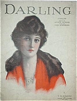Sheet Music - DARLING.  C.1920. (Image1)