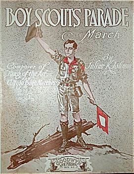 Sheet Music - Boy Scouts Parade. (Image1)