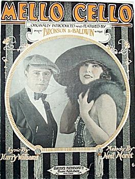 Sheet Music - MELLOW CELLO. (Image1)