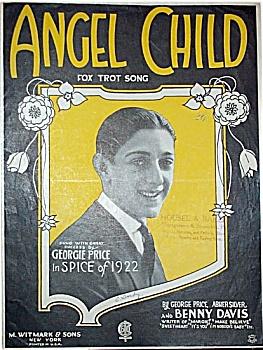 Sheet Music - ANGEL CHILD.  C.1922. (Image1)