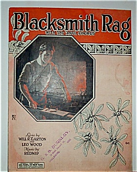 Sheet Music - BLACKSMITH RAG (Image1)