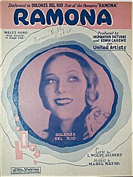 RAMONA � Delores Del Rio � C.1927. (Image1)