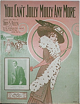Sheet Music – YOU CAN'T JOLLY MOLLY ANYMORE. (Image1)