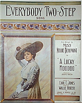 Sheet Music – EVERYBODY TWO-STEP.  C.1912. (Image1)
