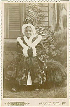 Cabinet Photo – The princess of Presque Isle, Maine. (Image1)
