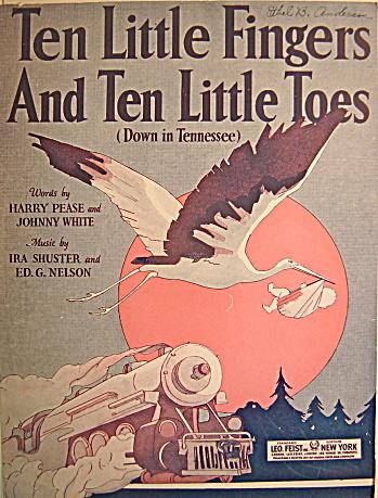"""""""Ten Little Fingers And Ten Little Toes"""" (Down in Tenn) (Image1)"""