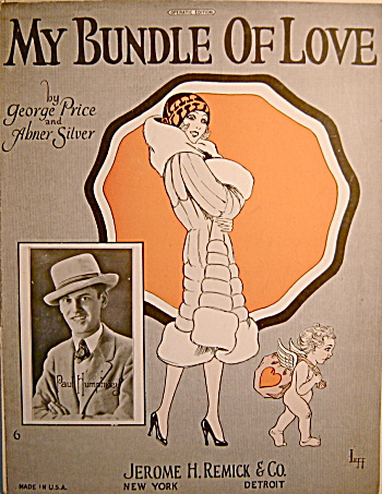 �My Bundle of Love� - Vintage Sheet Music (Image1)