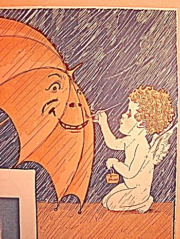 "Vintage Sheet Music 1927 ""Let A Smile Be Your Umbrella"" (Image1)"