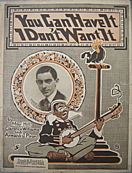 Sheet music: YOU CAN HAVE IT I DON�T WANT IT. (Image1)