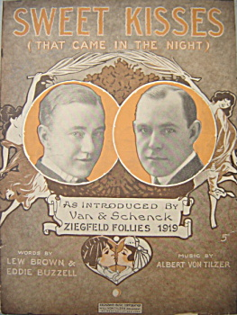 Sheet Music: Sweet Kisses (That Came In The Night).