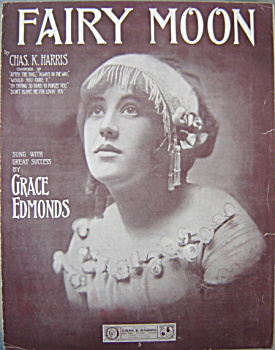 Sheet Music: Fairy Moon - 1911.