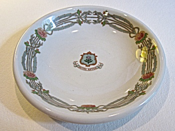 "1941 Hotel Astor NY ""Thistle China"" small 5"" bowl (Image1)"