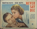 Click here to enlarge image and see more about item 1060: PAIR 1939 MOVIE LOBBY CARDS Bob Hope & Martha Raye.