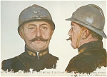 Click here to enlarge image and see more about item 1151: WWI PRINT BY BOUCHOR: ARTILLERY CAPT. C.1915.