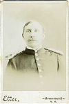 Click to view larger image of Cabinet Photo... Army Officer from Indian Wars. N.H. (Image1)