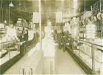 Click here to enlarge image and see more about item 1381: ANTIQUE PHOTO - LARGE -DRY GOODS STORE.