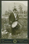 Click here to enlarge image and see more about item 4022: CABINET PHOTO � OLD DRUMMER BOY