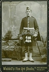 Click here to enlarge image and see more about item 4030: CABINET PHOTO –ARGYLL & SUTHERLAND HIGHLANDER