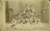 Click to view larger image of CABINET PHOTO – 1880's BROOM GIRLS - A+ (Image2)