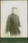 Click here to enlarge image and see more about item 4076: CABINET PHOTO � CADET AT SING SING, NY