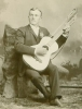 Click to view larger image of CABINET PHOTO of HARP GUITAR MUSICIAN C.1890 (Image2)