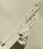 Click to view larger image of CABINET PHOTO of HARP GUITAR MUSICIAN C.1890 (Image3)