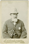 Click here to enlarge image and see more about item 4091: CABINET PHOTO OCCUPATIONAL POLICEMAN–GLOUCESTER MASS