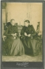 Click to view larger image of CABINET PHOTO – 1880's GRANNIES KNITTING (Image2)