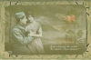 Click to view larger image of WWI FRENCH POSTCARDS IN ART NOUVEAU ALBUM PAGE. (Image3)