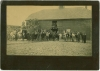 Click to view larger image of CABINET PHOTO - Huge Barn, Firewood, Workmen - RR. (Image2)