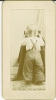 Click to view larger image of Miniature Cabinet Photos - Little Girl Front & Back. (Image3)