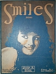 Sheet Music - SMILES – C.1917