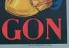 Click to view larger image of COGNAC MONTANGON Original Lithograph Poster C.1910 (Image3)