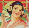 Click to view larger image of Vintage Poster THE MIKADO or, The Town of Titipu C.1920 (Image2)