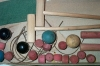 Click to view larger image of MILTON BRADLEY TABLE CROQUET GAME 1920-30 (Image6)